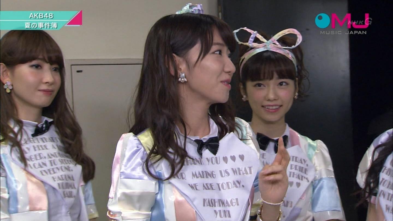 AKB48 心のプラカード MJ 柏木由紀 20140901 (6)