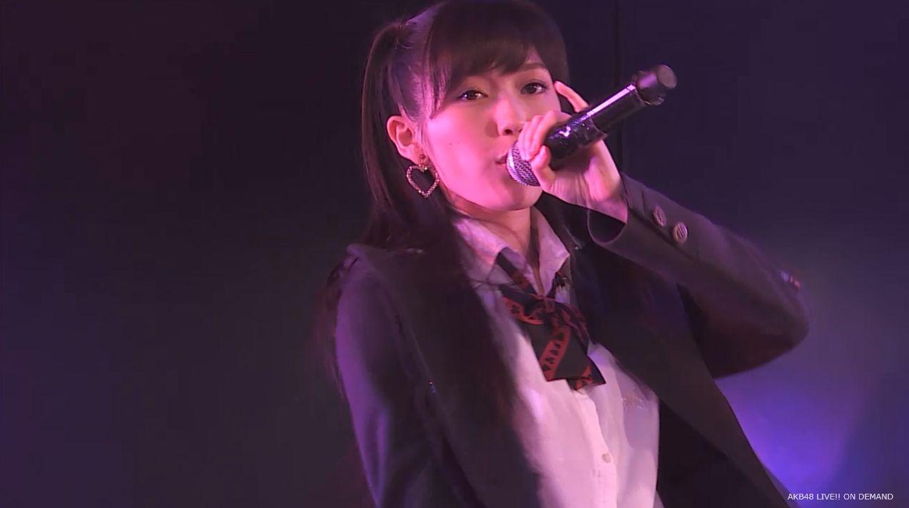 渡辺麻友ツインテール two years later チームB公演 20140905 (11)