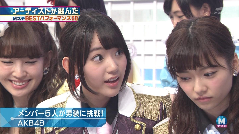 宮脇咲良 AKB48ミュージックステーション Mステ20140926 (27)