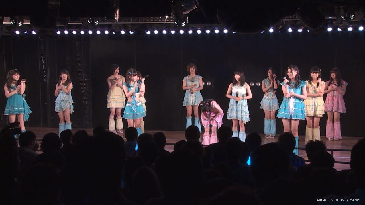 渡辺麻友ツインテール チームB公演 20140905 (8)