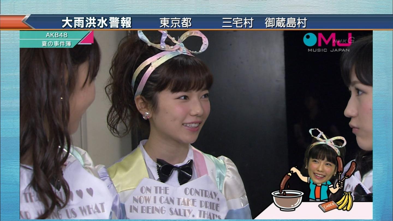 AKB48 心のプラカード MJ 島崎遥香 20140901 (4)