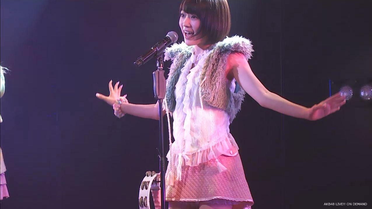 宮脇咲良 ハート型ウィルス AKB48チームA公演20140910 (7)