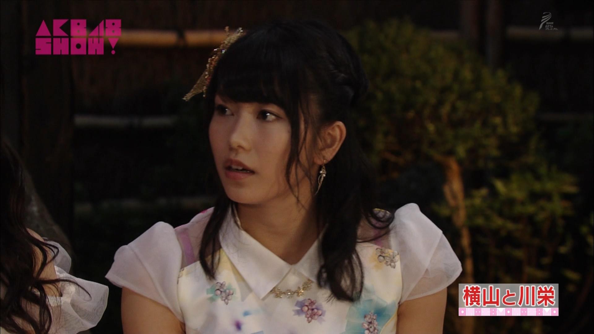 横山由依と川栄李奈 AKB48SHOW! 20140906 (49)