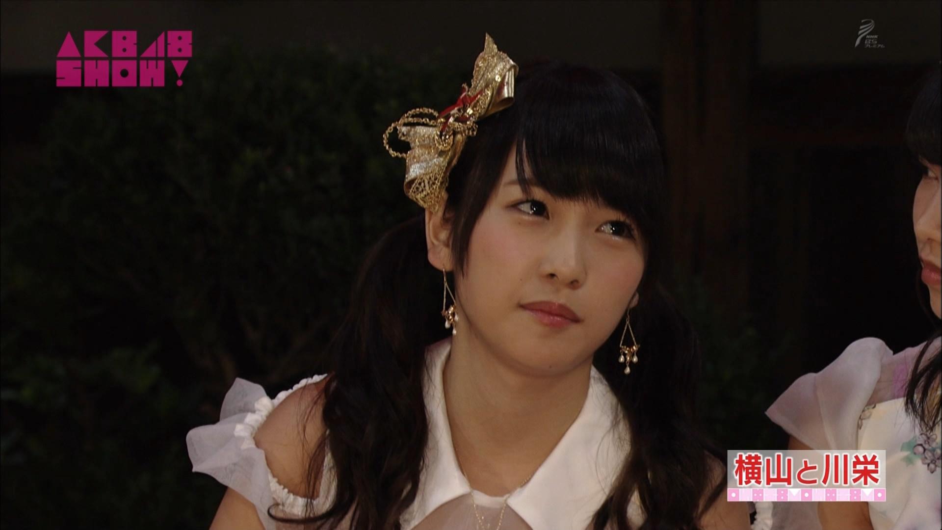 横山由依と川栄李奈 AKB48SHOW! 20140906 (32)
