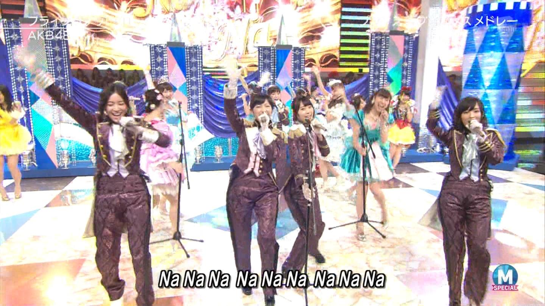 宮脇咲良 AKB48ミュージックステーション Mステ20140926 (67)