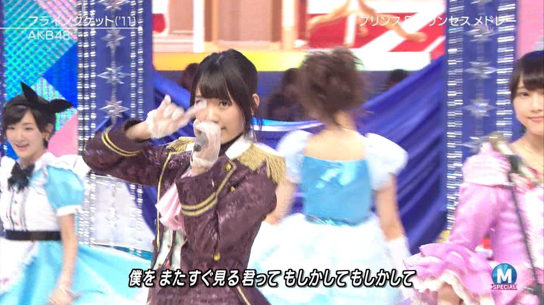 宮脇咲良 AKB48ミュージックステーション Mステ20140926 (59)