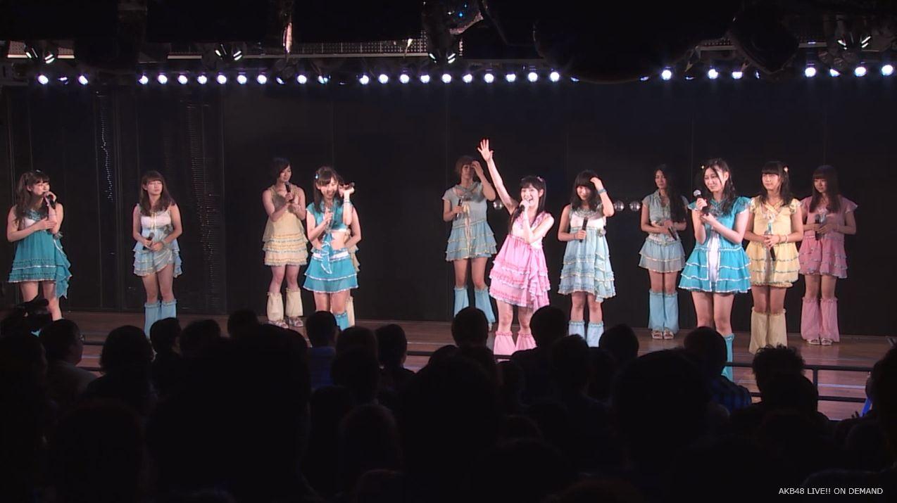 渡辺麻友ツインテール チームB公演 20140905