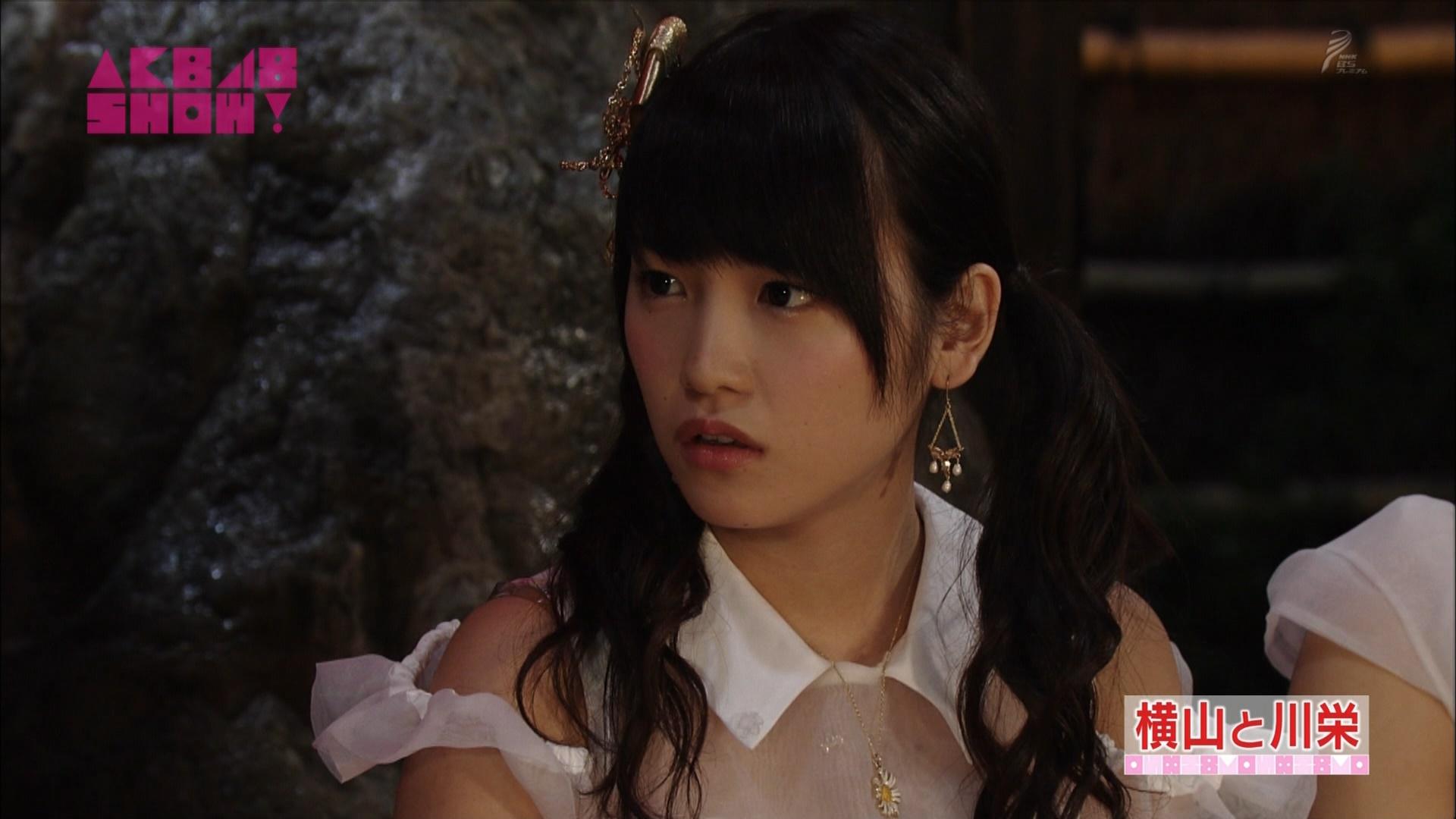 横山由依と川栄李奈 AKB48SHOW! 20140906 (29)