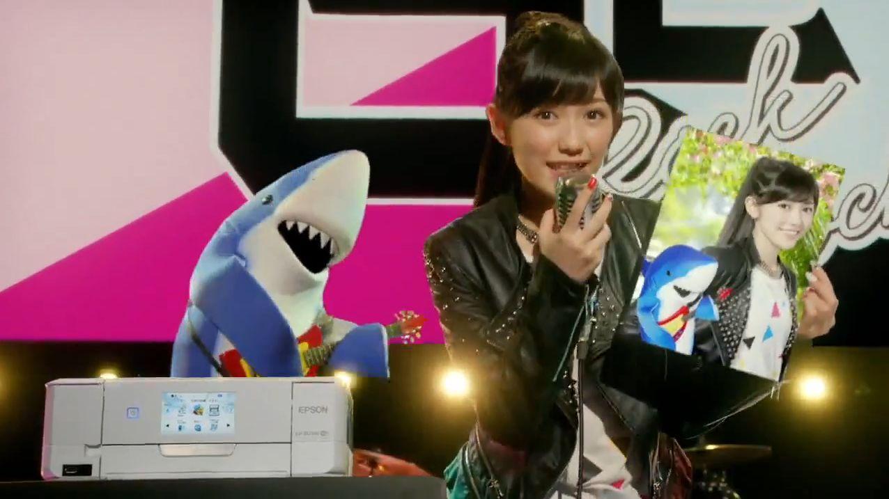 AKB48 渡辺麻友EPSONカラリオCM (10)