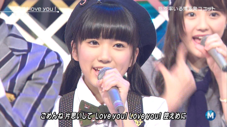 矢吹奈子 ミュージックステーション 控えめI love you 20140905 (29)