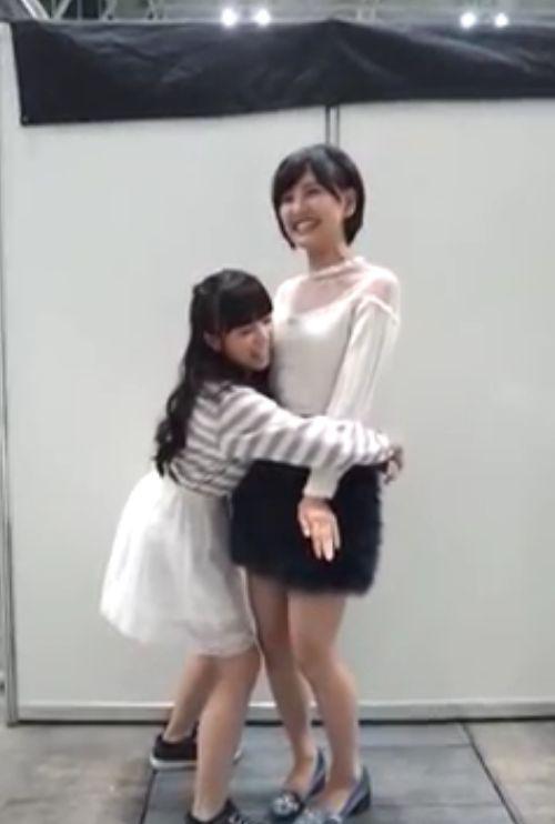 矢吹奈子 兒玉遥 前向き全国握手会 20140923 (2)