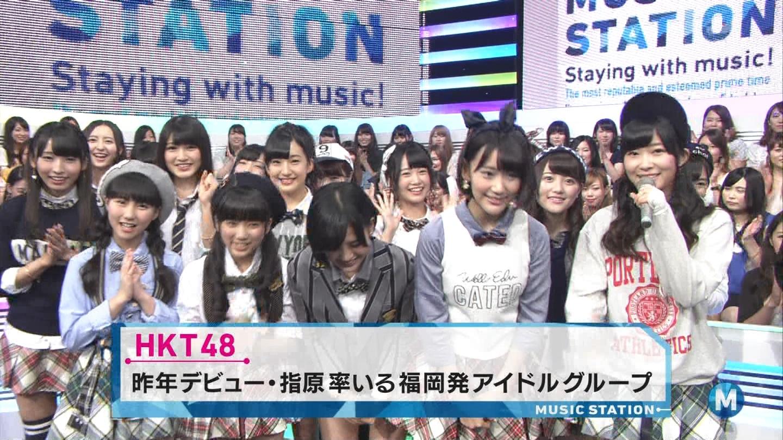 宮脇咲良 ミュージックステーション 控えめI love you 20140905 (7)