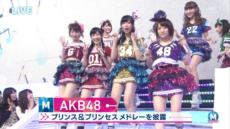 宮脇咲良 AKB48ミュージックステーション Mステ20140926 (2)