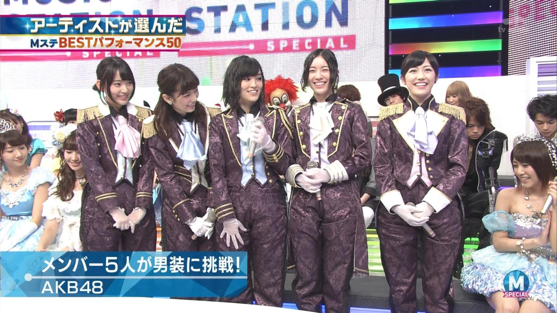 宮脇咲良 AKB48ミュージックステーション Mステ20140926 (18)