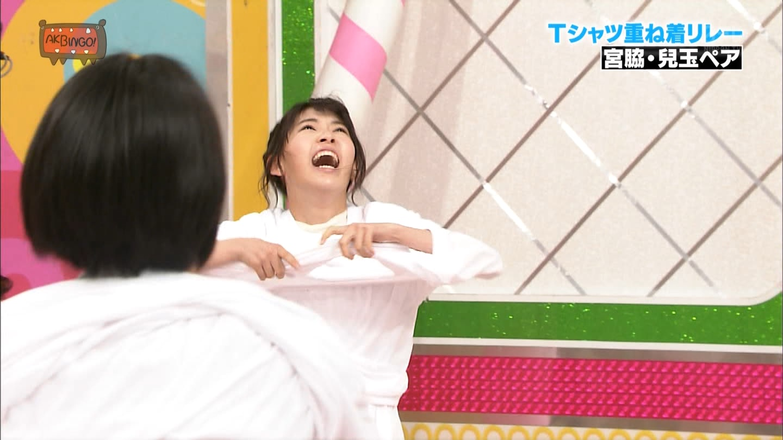 宮脇咲良 AKBINGO エヴァ走り20141029 (54)