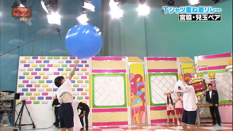 宮脇咲良 AKBINGO エヴァ走り20141029 (50)