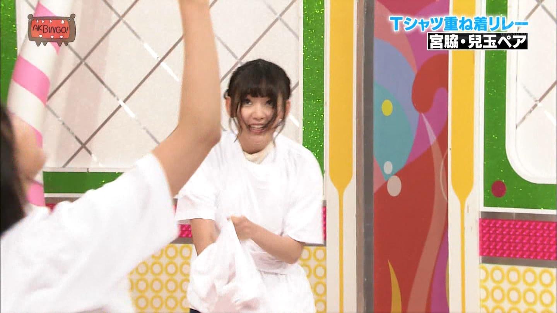 宮脇咲良 AKBINGO エヴァ走り20141029 (51)