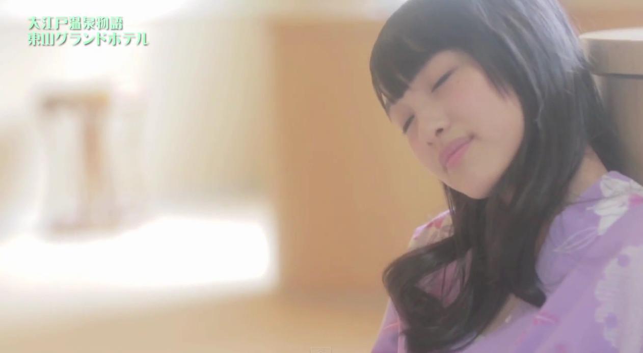 AKB48向井地美音×西野未姫 大江戸温泉PV   (2)
