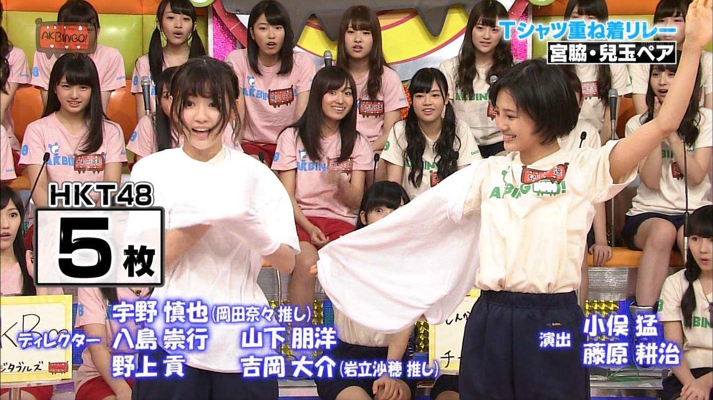宮脇咲良 AKBINGO エヴァ走り20141029 (61)
