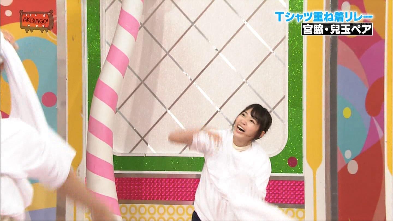宮脇咲良 AKBINGO エヴァ走り20141029 (52)