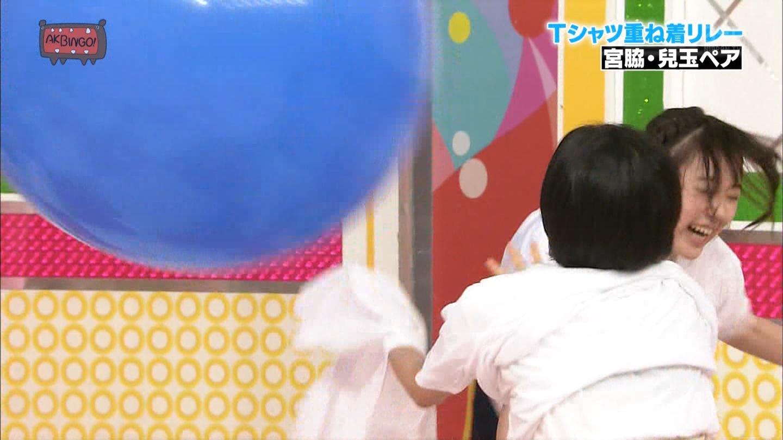 宮脇咲良 AKBINGO エヴァ走り20141029 (56)