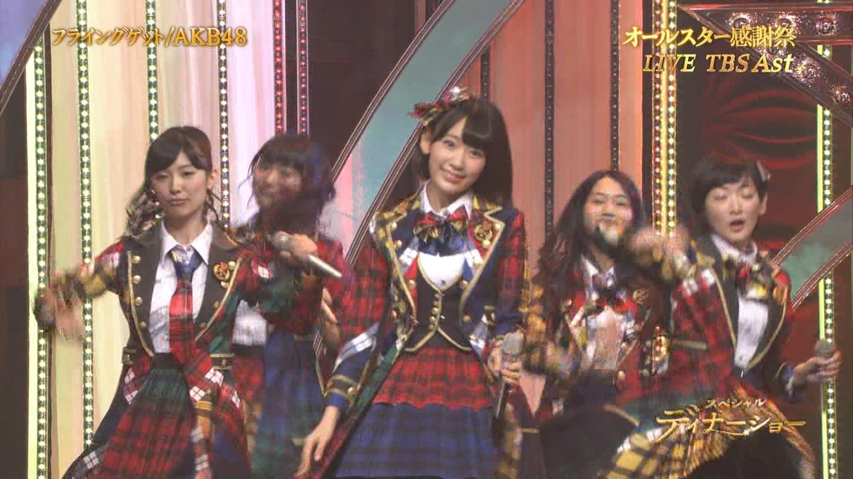 宮脇咲良 AKB48 希望的リフレイン オールスター感謝祭2014 (4)