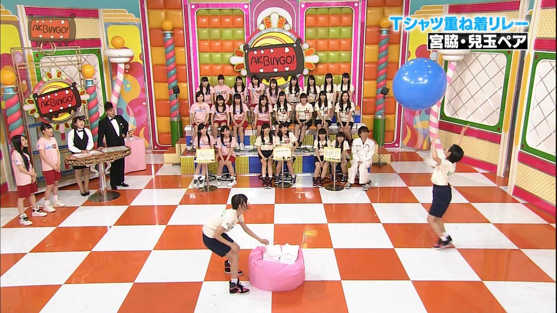 宮脇咲良 AKBINGO エヴァ走り20141029 (45)