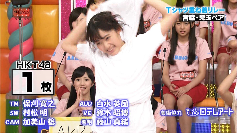 宮脇咲良 AKBINGO エヴァ走り20141029 (59)