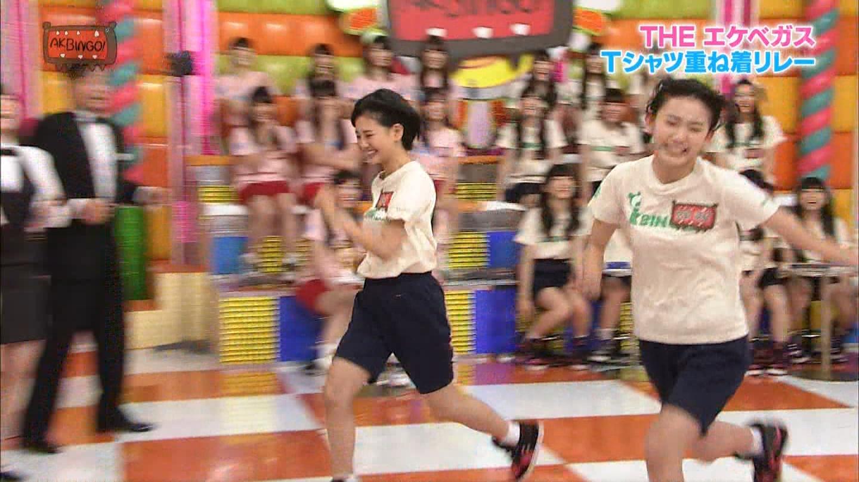 宮脇咲良 AKBINGO エヴァ走り20141029 (30)