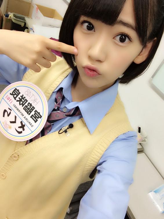 宮脇咲良 google+ (5)