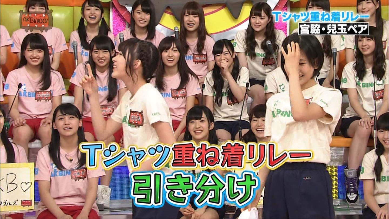 宮脇咲良 AKBINGO エヴァ走り20141029 (65)