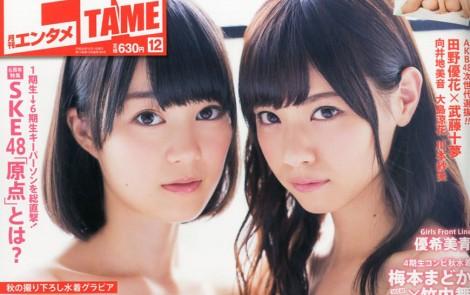 ENTAME エンタメ 2014年 12月号 西野七瀬×生田絵梨花 (1)