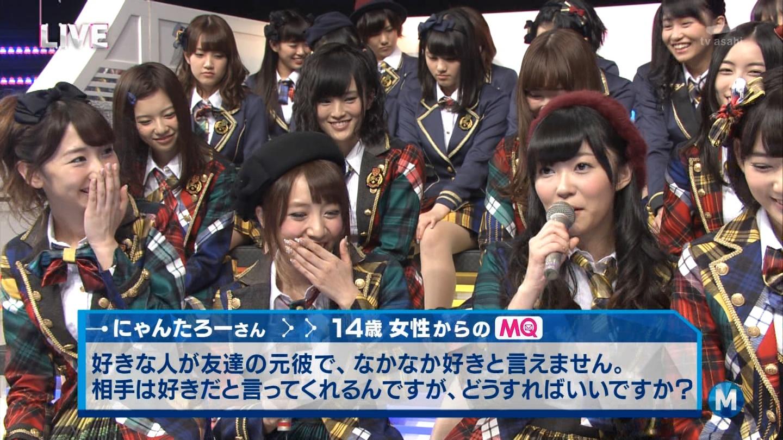 宮脇咲良 Mステ AKB48希望的リフレイン20141121  (94)