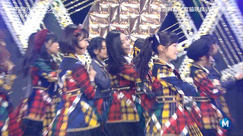 宮脇咲良 Mステ AKB48希望的リフレイン20141121 (85)