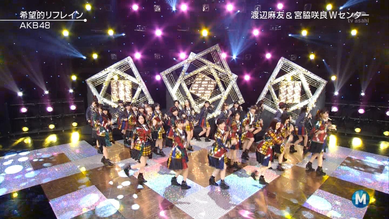 宮脇咲良 Mステ AKB48希望的リフレイン20141121 (59)