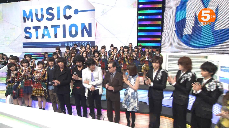 宮脇咲良 Mステ AKB48希望的リフレイン20141121  (107)