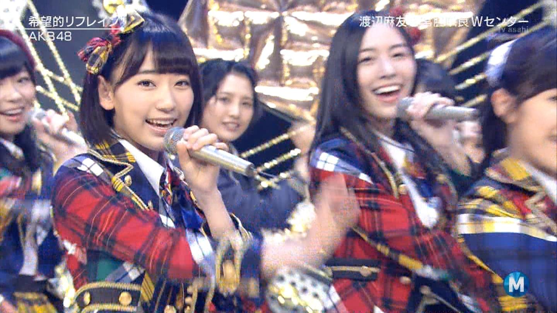 宮脇咲良 Mステ AKB48希望的リフレイン20141121 (81)
