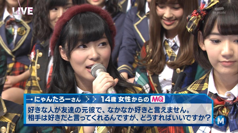 宮脇咲良 Mステ AKB48希望的リフレイン20141121  (99)