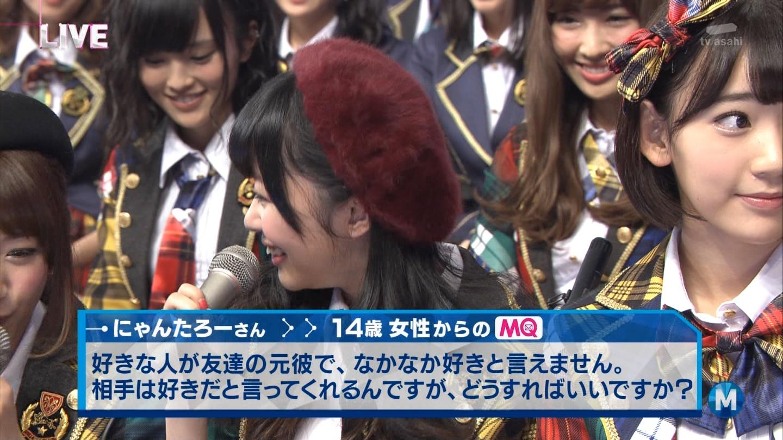 宮脇咲良 Mステ AKB48希望的リフレイン20141121  (101)