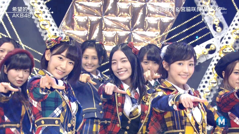 宮脇咲良 Mステ AKB48希望的リフレイン20141121 (86)