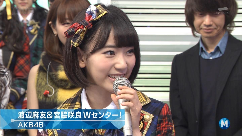 宮脇咲良 Mステ AKB48希望的リフレイン20141121 (35)