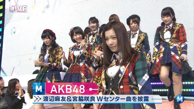 宮脇咲良 Mステ AKB48希望的リフレイン20141121 (10)