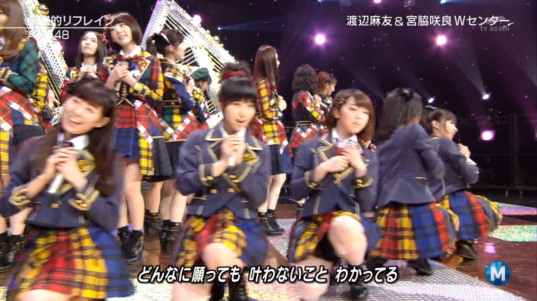 宮脇咲良 Mステ AKB48希望的リフレイン20141121 (66)