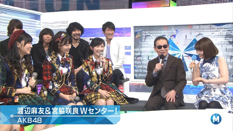 宮脇咲良 Mステ AKB48希望的リフレイン20141121 (38)