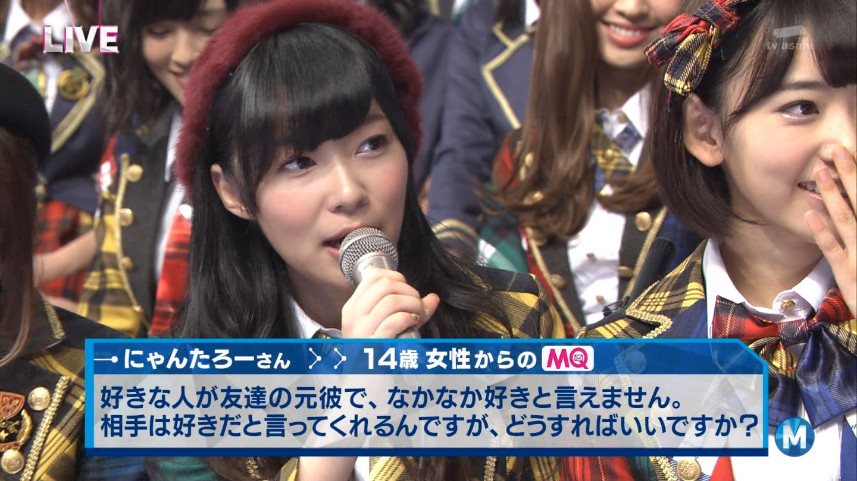 宮脇咲良 Mステ AKB48希望的リフレイン20141121  (96)
