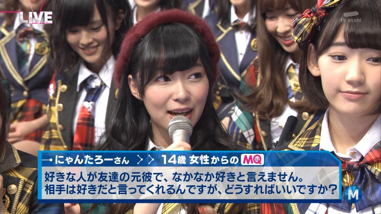 宮脇咲良 Mステ AKB48希望的リフレイン20141121  (100)