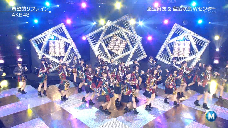 宮脇咲良 Mステ AKB48希望的リフレイン20141121 (84)