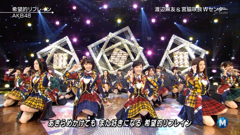 宮脇咲良 Mステ AKB48希望的リフレイン20141121 (56)