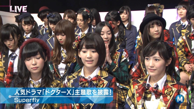 宮脇咲良 Mステ AKB48希望的リフレイン20141121  (91)