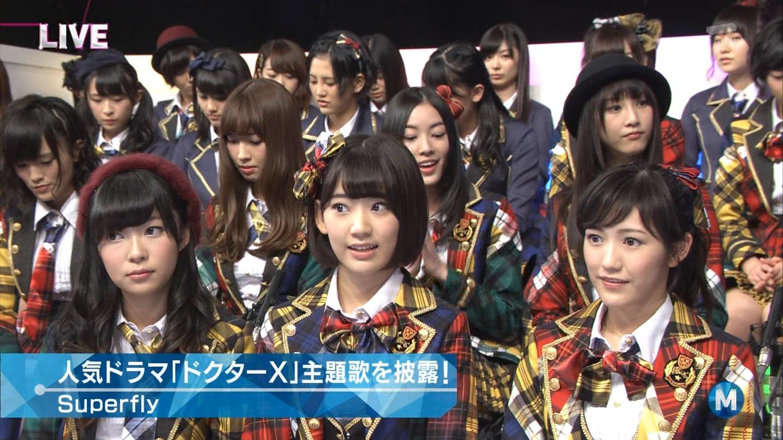 宮脇咲良 Mステ AKB48希望的リフレイン20141121  (90)